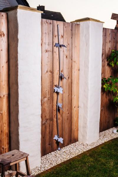 """Kabelranke """"Plants"""" Ahorn, silber – 2 Meter Design-Dekoartikel"""