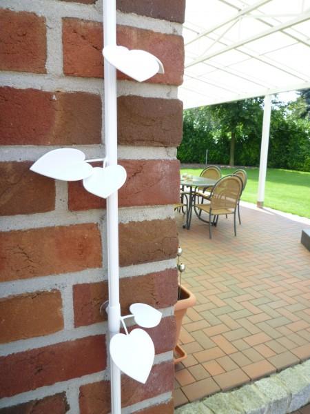 """Kabelranke """"Plants"""" Linde, weiß – 2 Meter Design-Kabelkanal"""